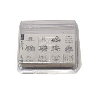 Stampin' Up! Loads Of Love Set Of 12 Rubber Stamps